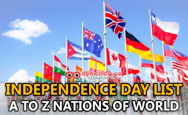 3 - List of Independence Days by Country
